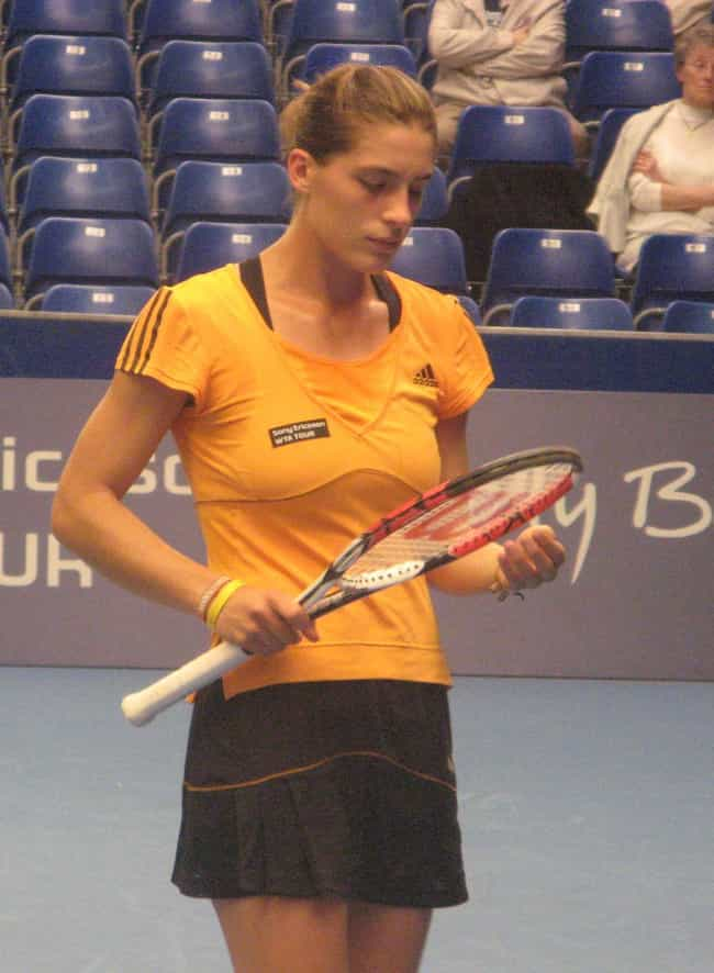 Andrea Petkovic is listed (or ranked) 8 on the list The Best Tennis Players from Germany