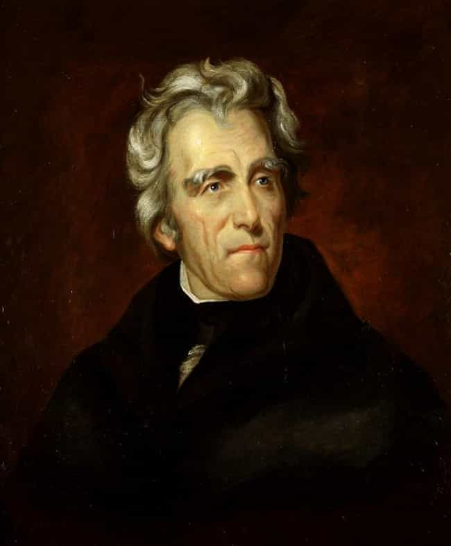 Andrew Jackson is listed (or ranked) 1 on the list Famous Male Prosecutors