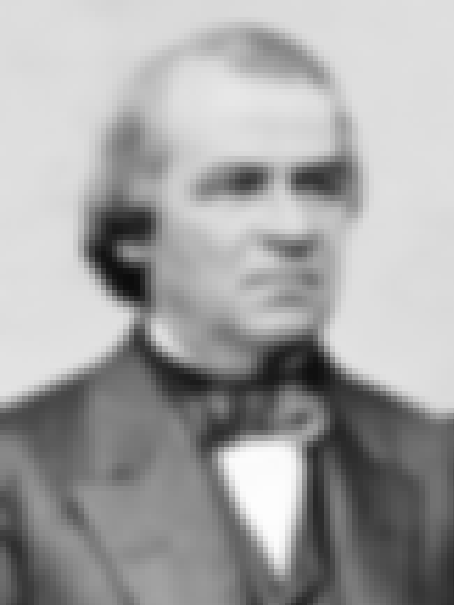 Andrew Johnson is listed (or ranked) 3 on the list U.S. Presidents Who Weren't Elected Into Office