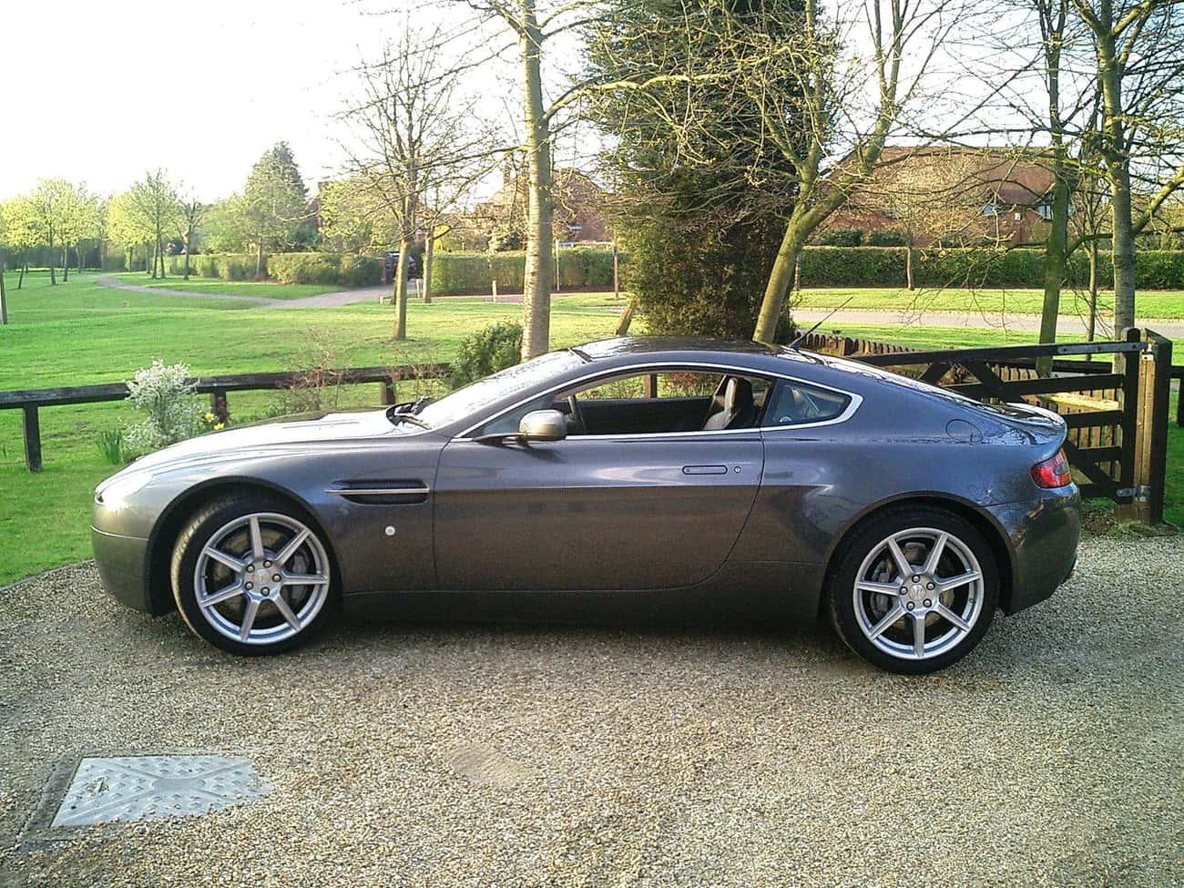 Aston Martin V8 Vantage (2005) is listed (or ranked) 4 on the list Full List of Aston Martin Models