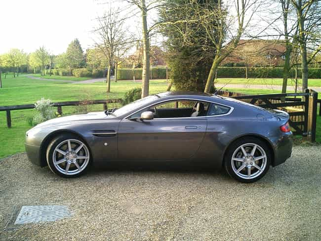 Aston Martin V8 Vantage ... is listed (or ranked) 4 on the list Full List of Aston Martin Models