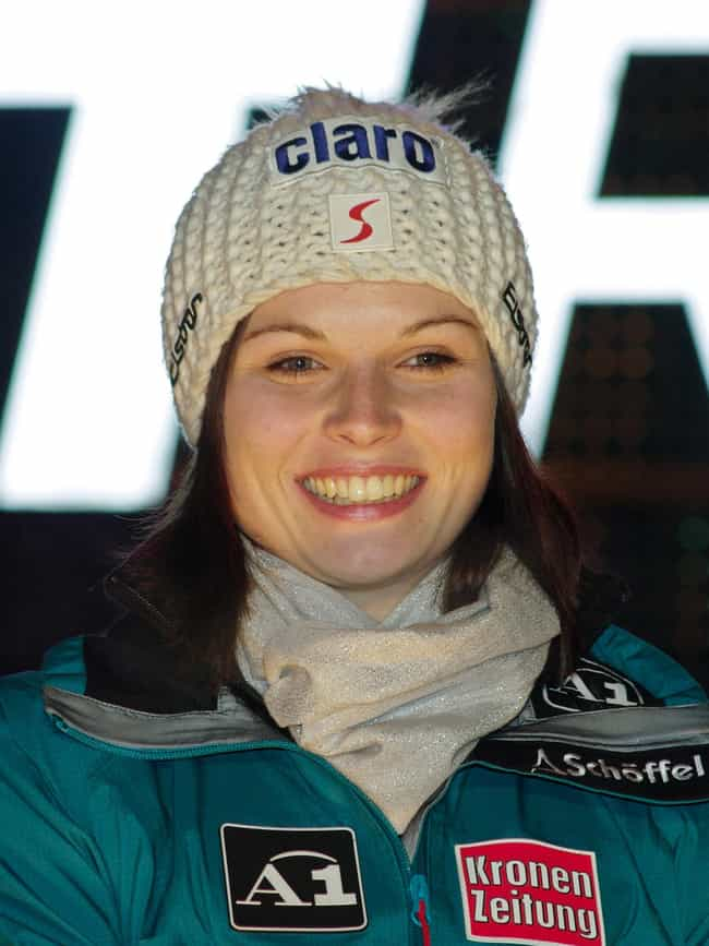Anna Fenninger is listed (or ranked) 3 on the list Famous Female Alpine Skiers