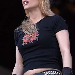 Angela Gossow is listed (or ranked) 4 on the list German Thrash Metal Bands List