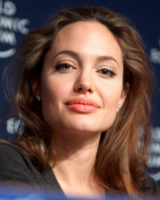 Angelina Jolie is listed (or ranked) 4 on the list Celebrities Who (Allegedly) Have Bad Breath