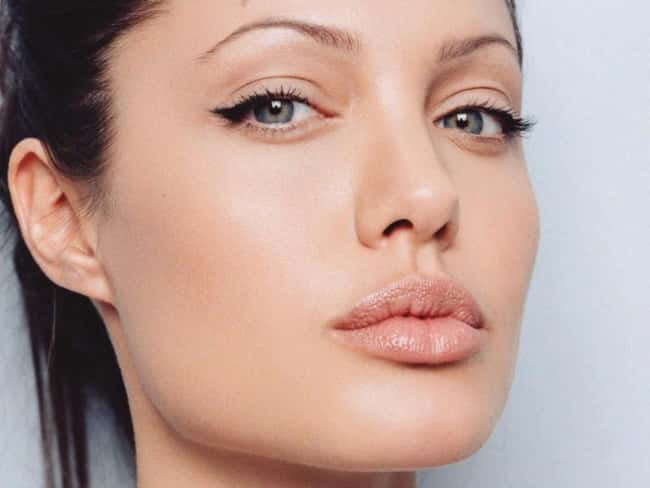 Angelina Jolie is listed (or ranked) 41 on the list The Most Captivating Celebrity Eyes (Women)