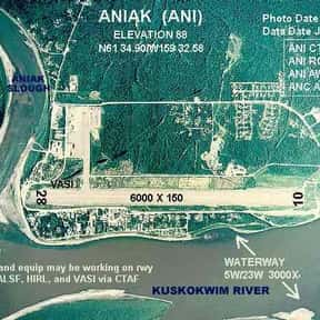 Aniak Airport is listed (or ranked) 1 on the list All Alaska Airports