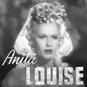 Anita Louise is listed (or ranked) 24 on the list Actresses You May Not Have Realized Are Republican