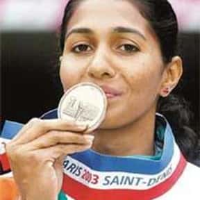 Anju Bobby George is listed (or ranked) 7 on the list Famous Female Athletes from India