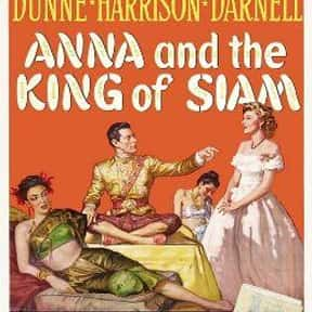 Anna and the King of Siam is listed (or ranked) 6 on the list Roger's Top 250+ Classic Epic Movies