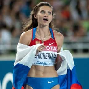 Anna Chicherova is listed (or ranked) 7 on the list Famous Female Athletes from Russia