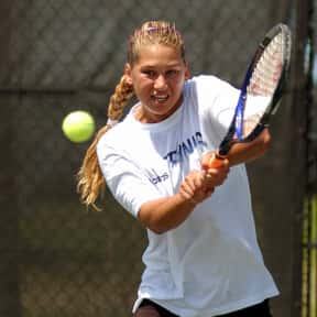 Anna Kournikova is listed (or ranked) 2 on the list List of Famous Tennis Players