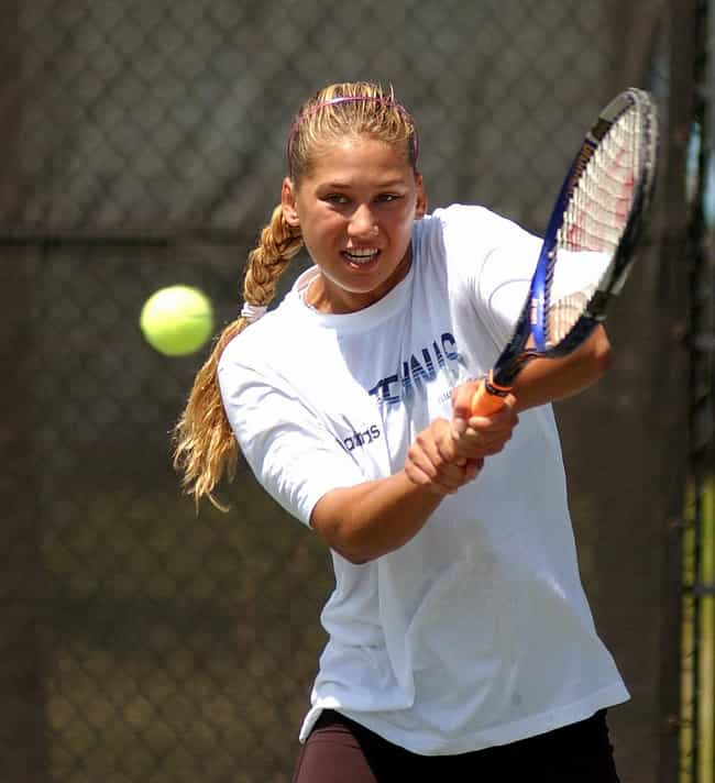 Anna Kournikova is listed (or ranked) 2 on the list Famous Female Athletes