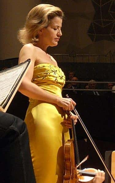 Anne-Sophie Mutter is listed (or ranked) 1 on the list Famous Violinists from Germany