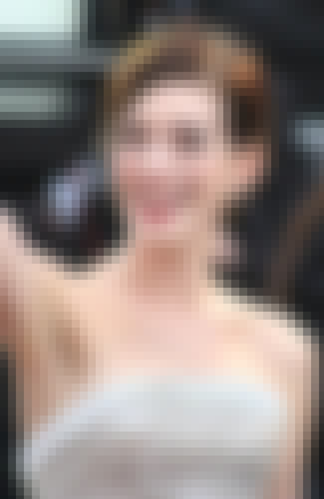 Anne Hathaway is listed (or ranked) 4 on the list 38 Famous ESFJs