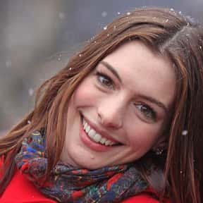Anne Hathaway is listed (or ranked) 19 on the list Who Was America's Girlfriend in 2016?