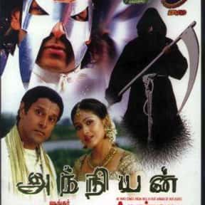 Anniyan is listed (or ranked) 7 on the list The Top 10 Tamil Films of 2000