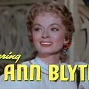 Ann Blyth is listed (or ranked) 20 on the list Famous People Named Annie