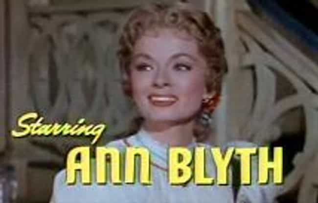 Ann Blyth is listed (or ranked) 2 on the list Famous Friends of Joan Crawford