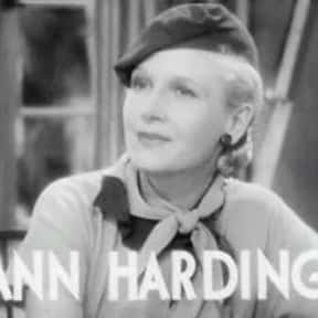 Ann Harding is listed (or ranked) 16 on the list TV Actors from San Antonio
