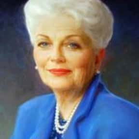Ann Richards is listed (or ranked) 9 on the list Famous People Who Died in Texas