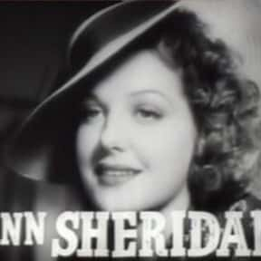 Ann Sheridan is listed (or ranked) 5 on the list Famous People Named Annie