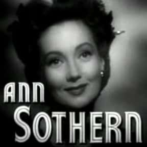 Ann Sothern is listed (or ranked) 19 on the list Famous People Named Annie