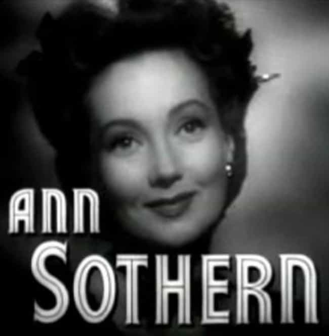 Ann Sothern is listed (or ranked) 2 on the list Women Who Cesar Romero Has Dated
