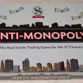 Anti-Monopoly is listed (or ranked) 18 on the list List of Board Games
