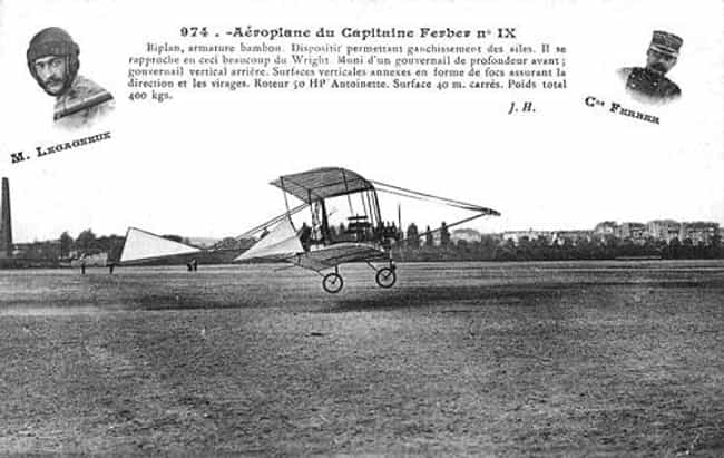 Ferber IX is listed (or ranked) 1 on the list Antoinette Airplanes and Aircrafts