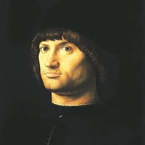 Antonello da Messina is listed (or ranked) 12 on the list Men On Stamps: List Of Men On US Postage