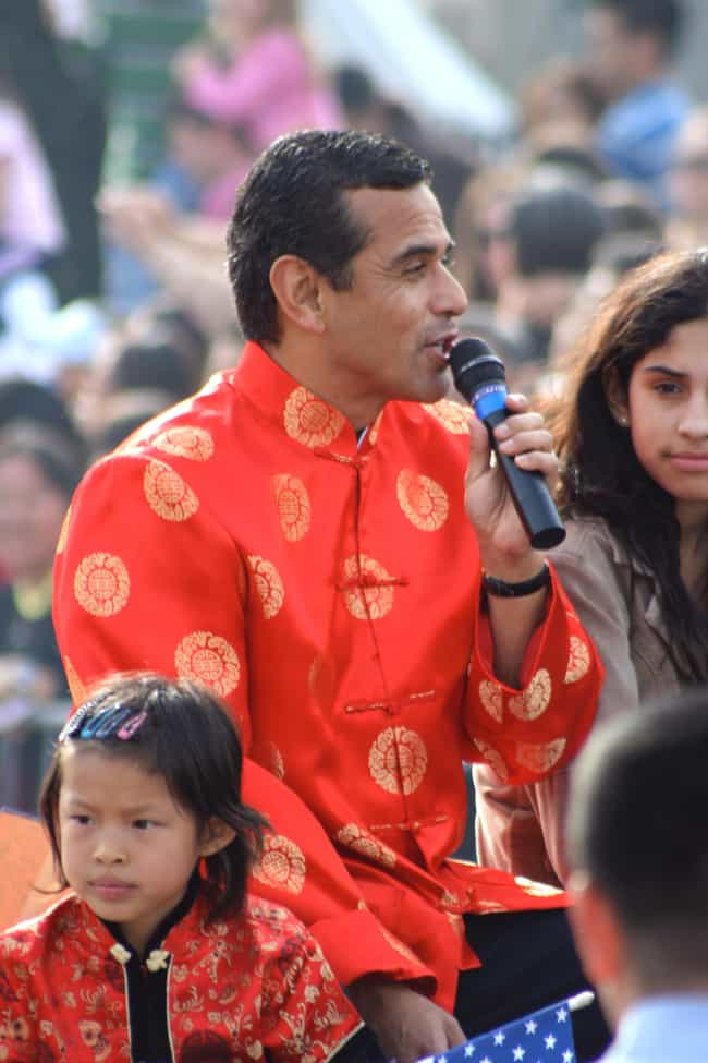 Antonio Villaraigosa is listed (or ranked) 1 on the list Famous Hispanic Politicians