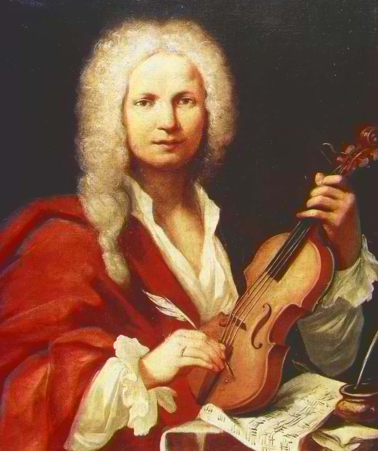 Antonio Vivaldi is listed (or ranked) 1 on the list List of Famous Violinist/Composers