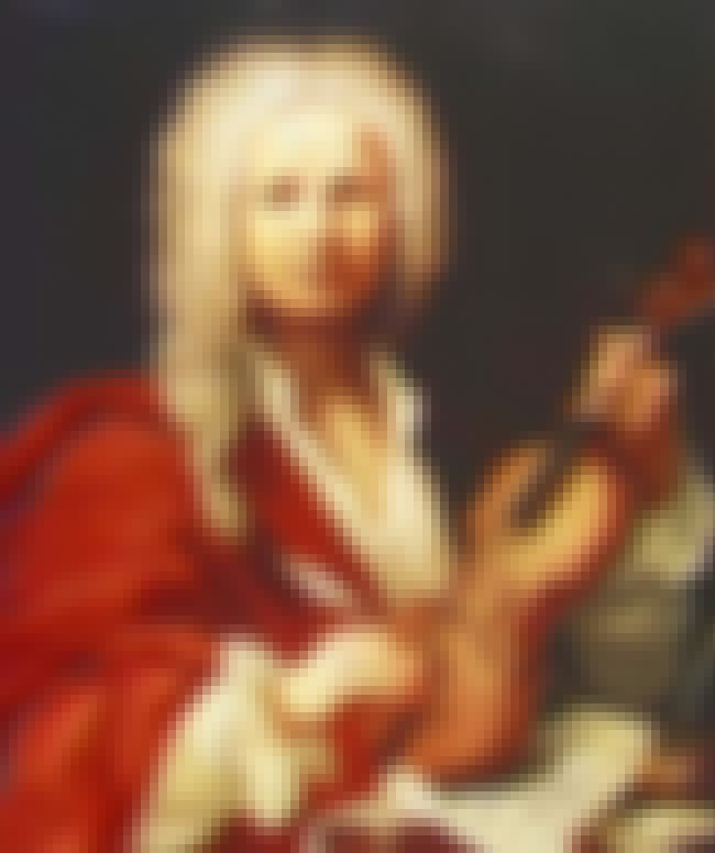 Antonio Vivaldi is listed (or ranked) 5 on the list List of Famous Priests