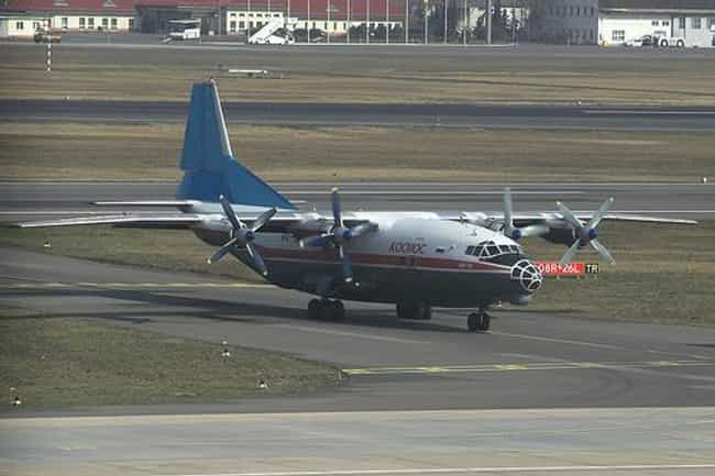 Antonov An-12 is listed (or ranked) 4 on the list List of Antonov Airplanes and Aircrafts