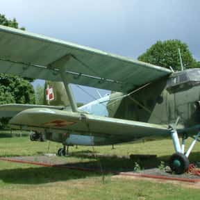 Antonov An-2 is listed (or ranked) 1 on the list List of All Agricultural Aircraft Types