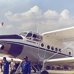 Antonov An-3 is listed (or ranked) 2 on the list List of All Agricultural Aircraft Types