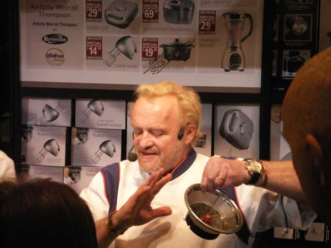 Antony Worrall Thompson is listed (or ranked) 3 on the list Famous Chefs from England