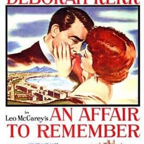 An Affair to Remember is listed (or ranked) 5 on the list AFI's Top 100 Love Story Movies