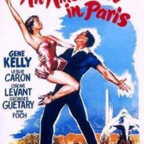 An American in Paris is listed (or ranked) 8 on the list Filmsite's Greatest Films of the 50's