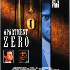 Apartment Zero is listed (or ranked) 5 on the list The Best Colin Firth Movies