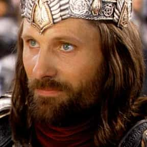 Aragorn is listed (or ranked) 1 on the list The Greatest Fictional Kings