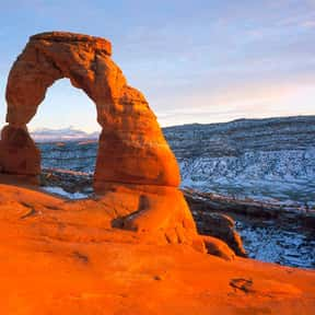 Arches National Park is listed (or ranked) 15 on the list The Best Tourist Attractions in America
