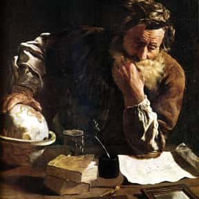 Archimedes is listed (or ranked) 8 on the list The Greatest Minds of All Time