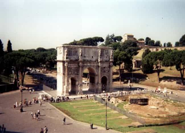 Arch of Constantine is listed (or ranked) 1 on the list Famous Corinthian order buildings