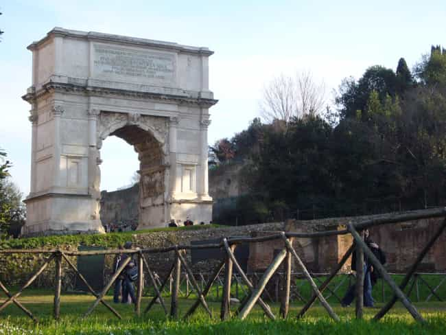Arch of Titus is listed (or ranked) 1 on the list List of Famous Rome Buildings & Structures