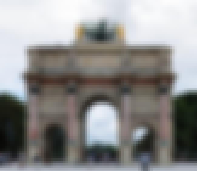 Arc de Triomphe du Carrousel is listed (or ranked) 5 on the list List of Famous Paris Buildings & Structures