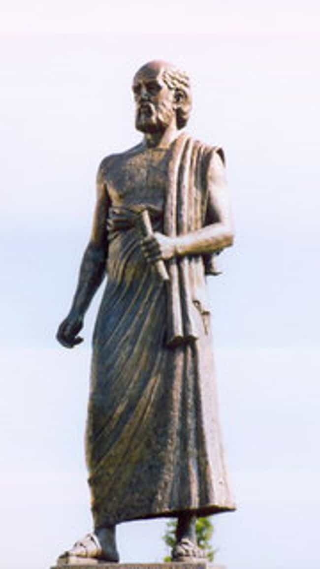 Aristarchus of Samos is listed (or ranked) 3 on the list Famous Mathematicians from Greece