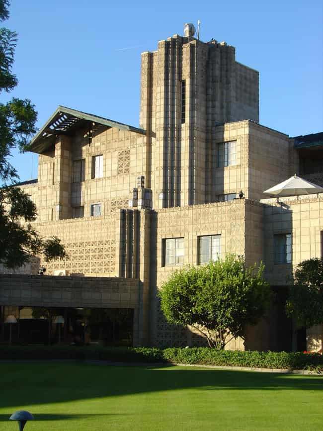 Arizona Biltmore Hotel is listed (or ranked) 4 on the list List of Famous Phoenix Buildings & Structures
