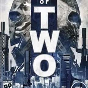 Army of Two is listed (or ranked) 21 on the list Video Games All Basic Bros Love