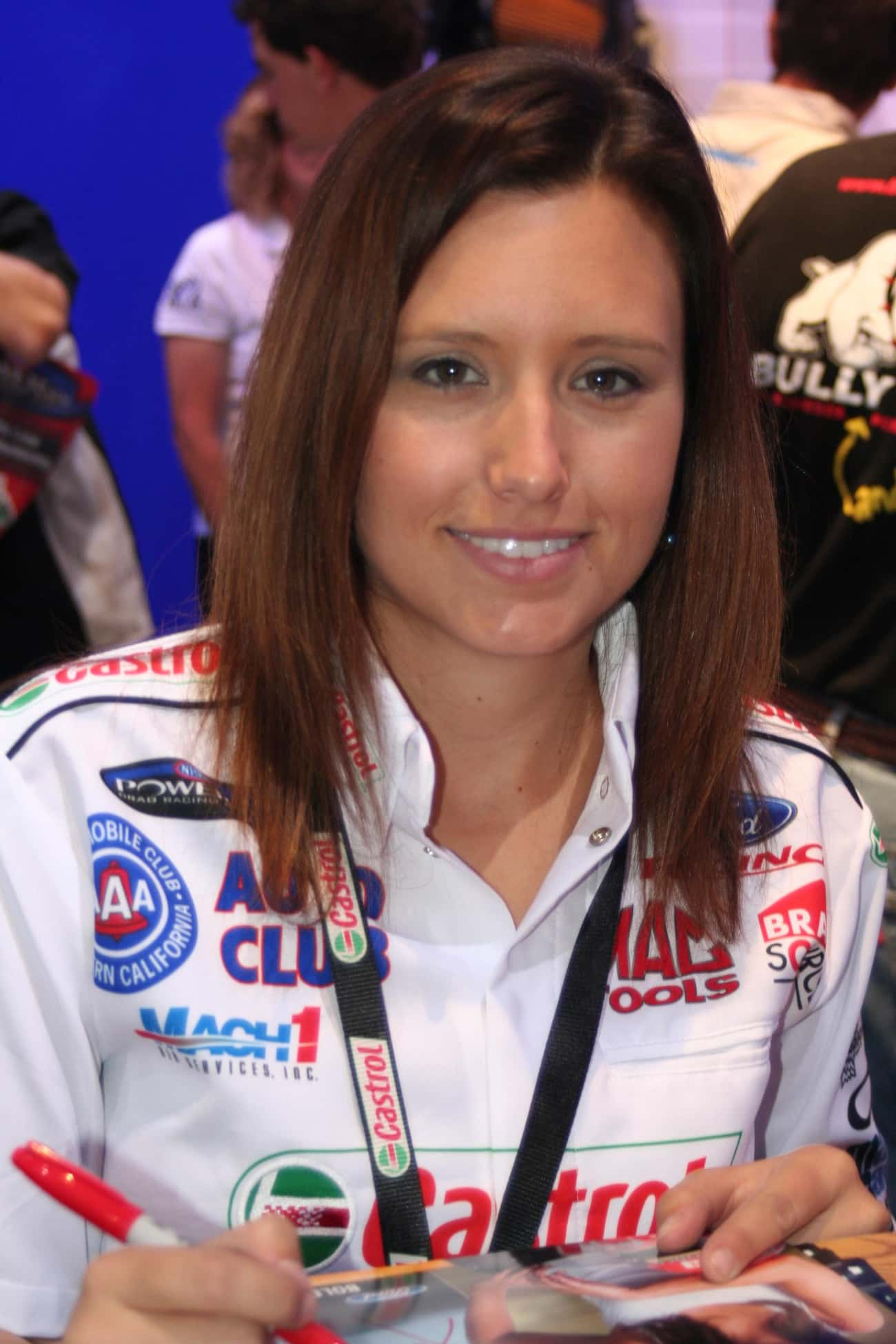 Ashley Force Hood is listed (or ranked) 4 on the list Famous Female Racecar Drivers